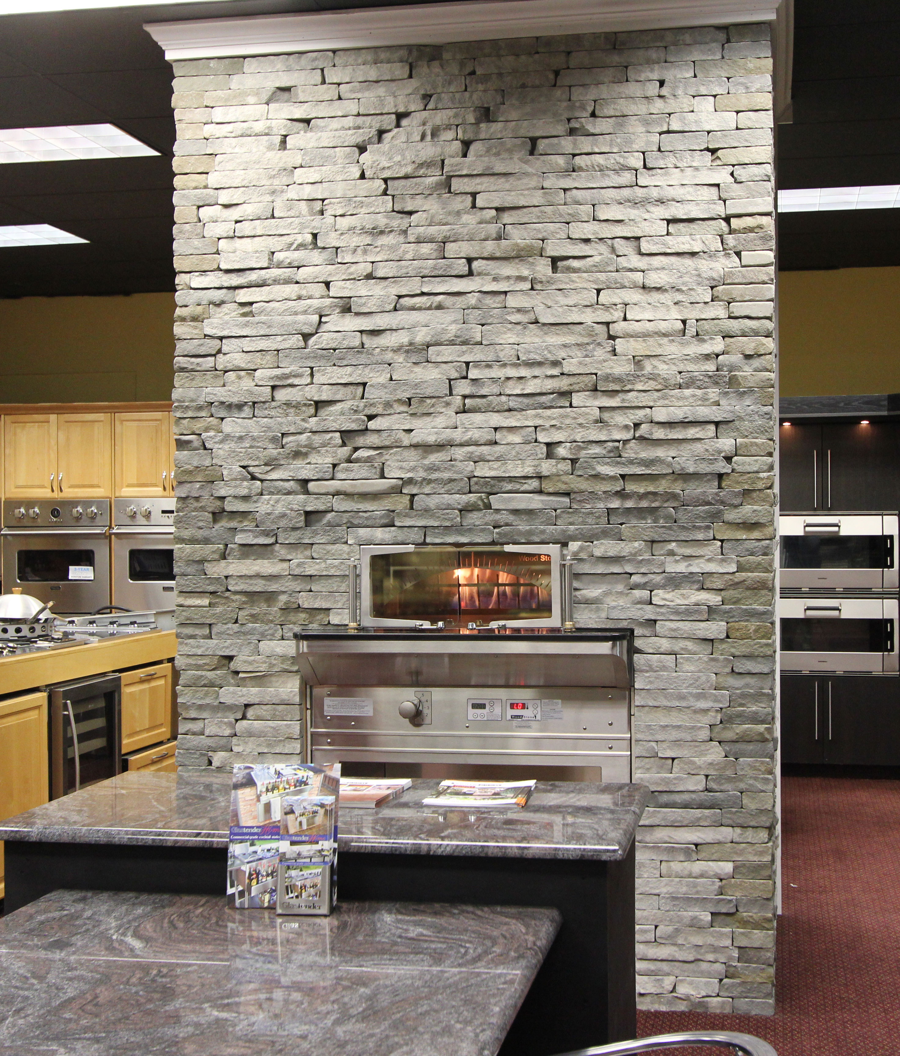 Wood Stone Home Oven in Kieffer's Appliances Showroom