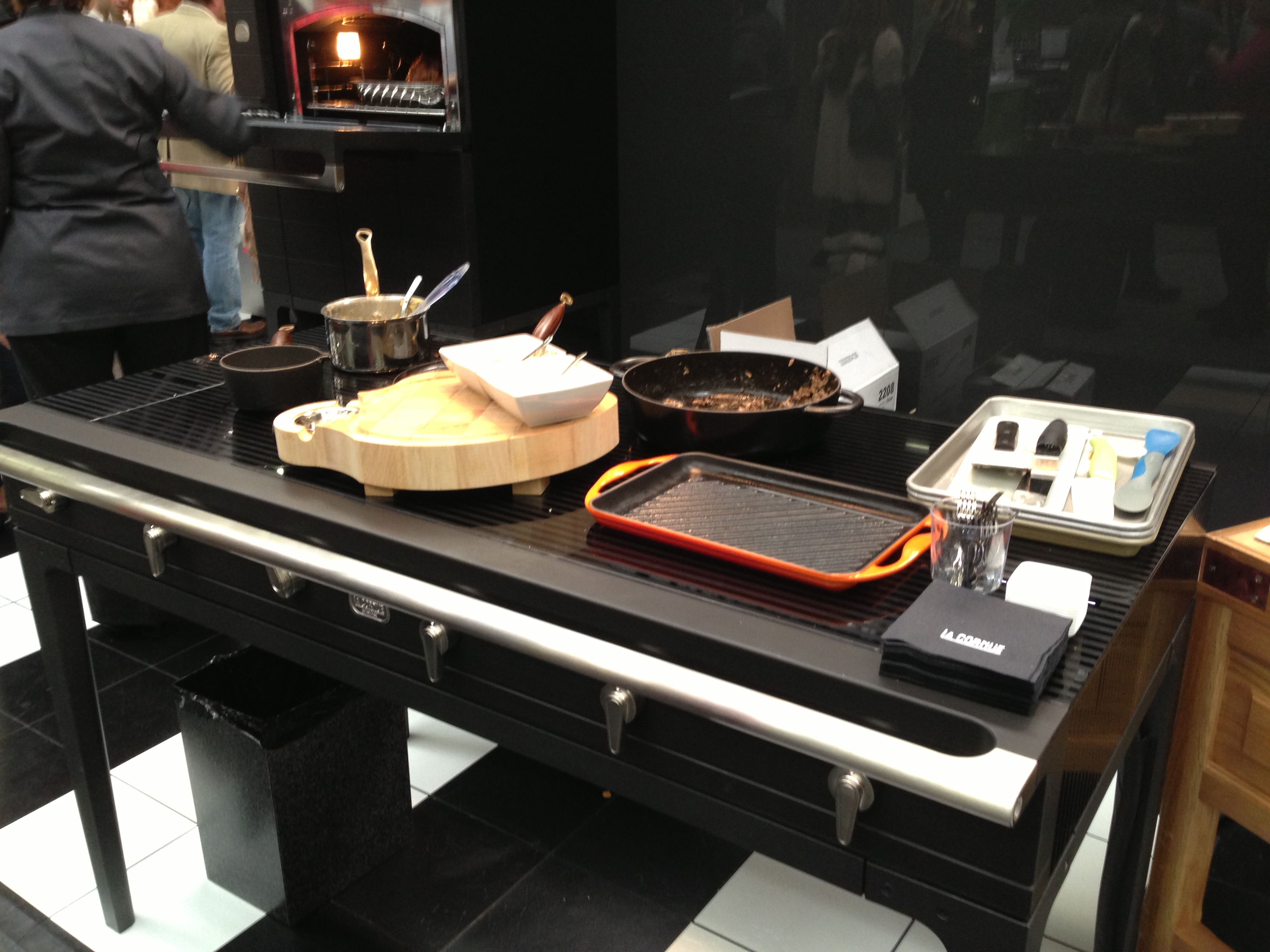 The architectural digest show part 1 kieffer 39 s for Table induction